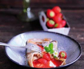 Fruechtetee-Pfannkuchen